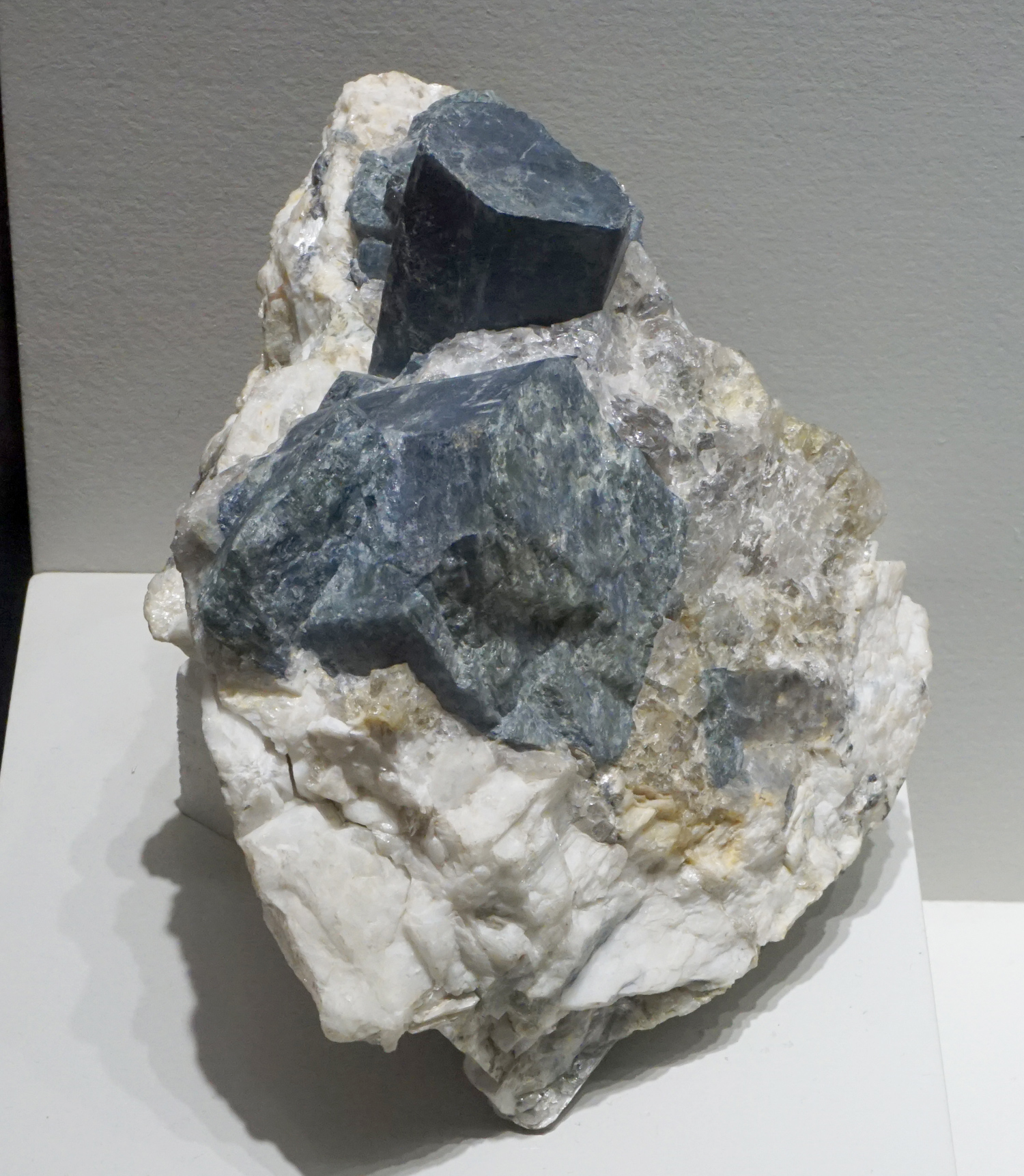 Large Triphylite in Pegmatite