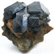Uraninite Crystal Cluster