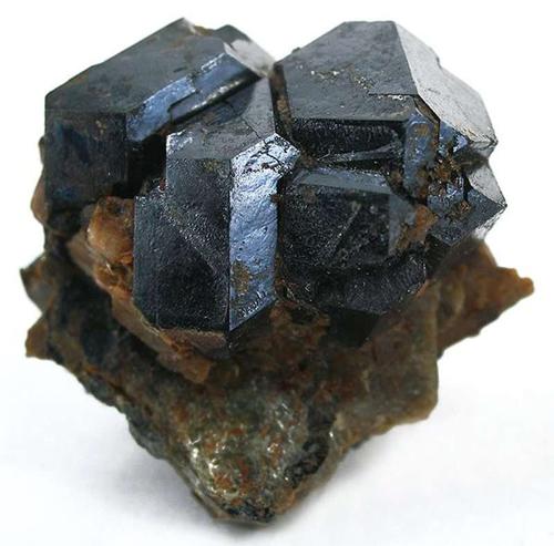 Uraninite Crystal Cluster