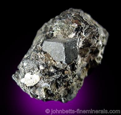 Cubic Uraninite Crystal