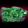 Uvarovite with Large Crystal