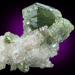 Green Uvite with Magnesite