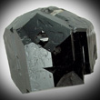 Single Black Uvite Crystal