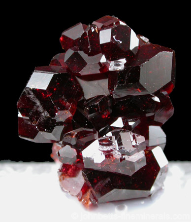 Blood Red Uvite Crystals