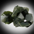 Dark Green Uvite Cluster