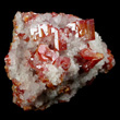 Vanadinite in Calcite
