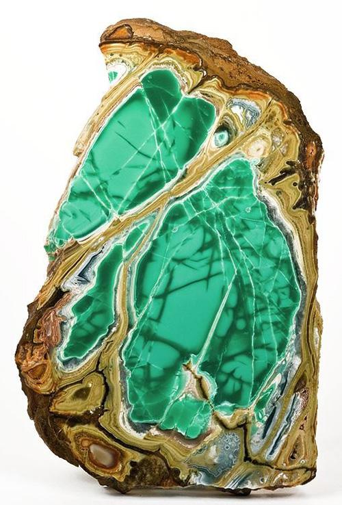 Bright Green Variscite Slab