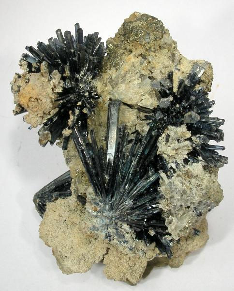 Acicular Vivianite Sprays