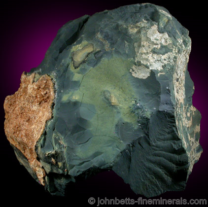 Earthy, Massive Vivianite