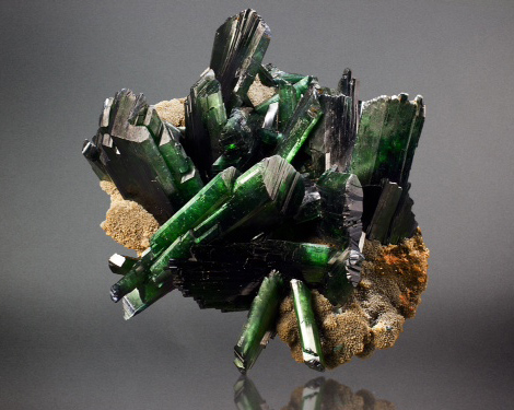 Vivianite Crystal Cluster
