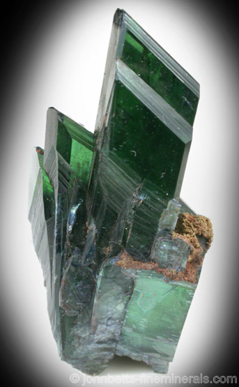Sharp Transparent Vivianite