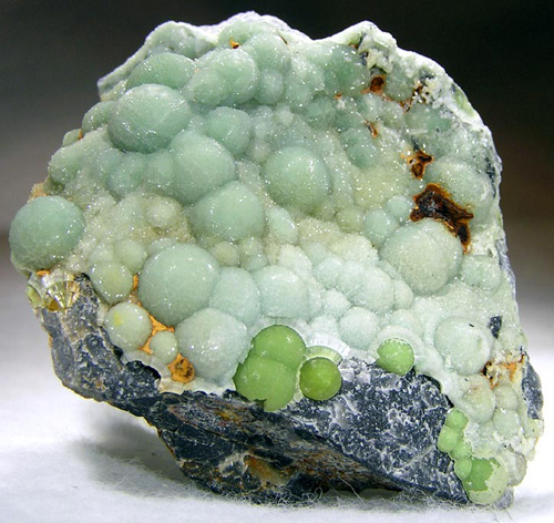Wavellite with Multiple Growths