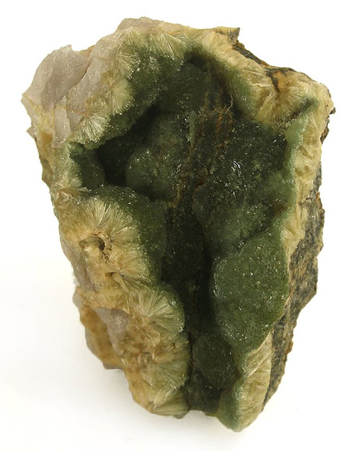 Deep Green Wavellite