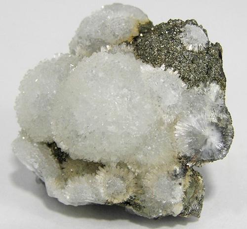 Bright White Wavellite