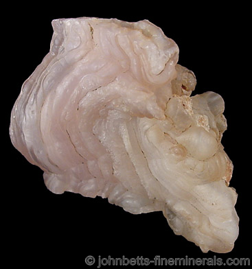 White to Light Pink Chalcedony