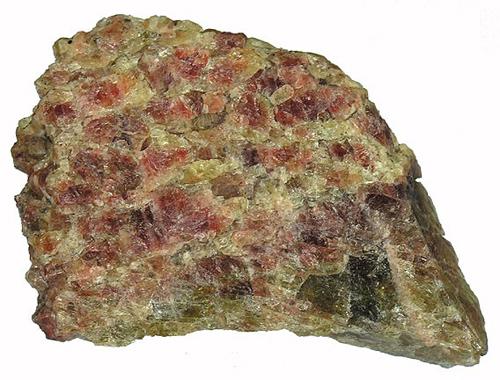 Green and Reddish Heulandite