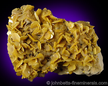 Wulfenite: The mineral wulfenite information and pictures