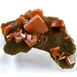 Stubby Wulfenite Crystals