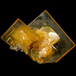 Transparent Bladed Wulfenite