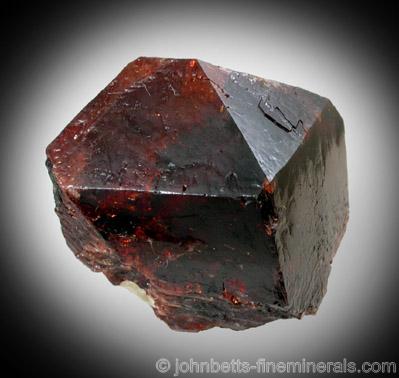 Single Dark-Red Zircon Crystal