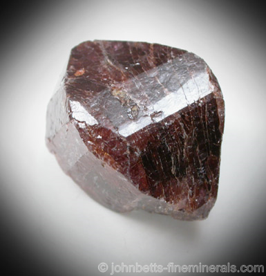 Doubly Terminated Zircon Crystal