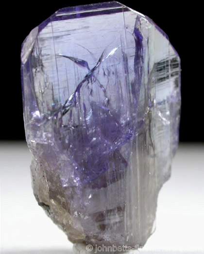 Wedge-shaped Tanzanite Crystal