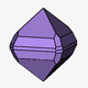 Rounded Dipyramidal