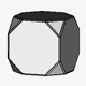 Cube with Octahedral Modification
