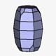 Pyramidal Hexagonal Barrel