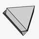 Flattened Triangular Spinel Twin