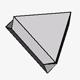 Flattened Triangular Spinel Twin