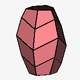 Complex Scalenohedral with Flat Terminations