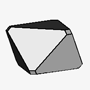 Pseudo-octahedral with Modified Edges