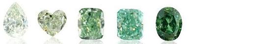 fancy colored green diamonds