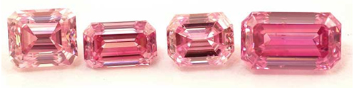 fancy colored pink diamonds