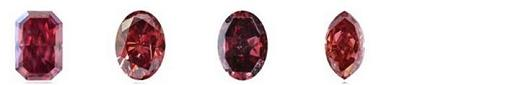 fancy colored red diamonds