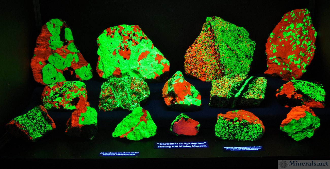 Minerals.net : Mineral News : The Franklin, NJ Spring 2014 Show
