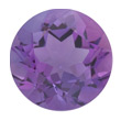 Light Colored Round Amethyst
