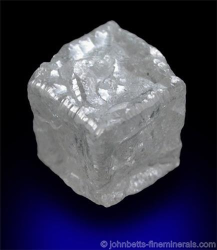 Cubic White Diamond Crystal The Mineral And Gemstone Kingdom
