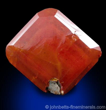 Tabular Single Wulfenite - The Mineral and Gemstone Kingdom